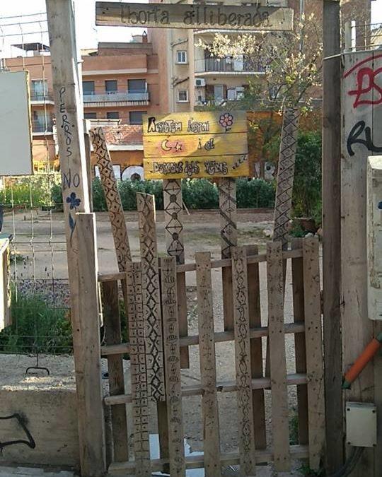 Barcelone : culture de friches en pleine ville