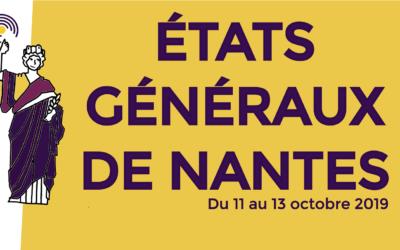 Les états généraux de Nantes, du 11 au 13 octobre